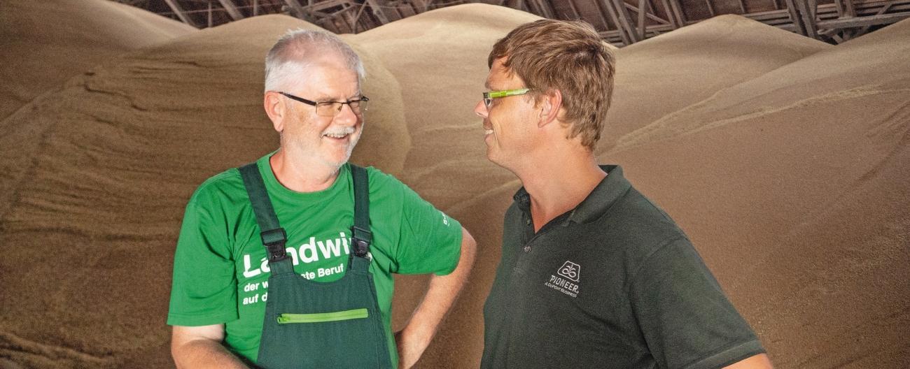 Uwe Teske og Konrad Miosge - AG Dankmarshausen.