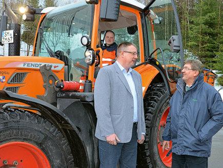 Holger Hahn, director de un depósito de construcción estatal, Alemania - 208 V, 720 Vario