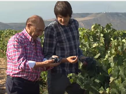 Dionisio Ruiz Ijalba, Empresario de la región Rioja , Españia - 200 P und Farmer